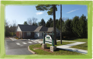 Best dental office in Delaware, Ohio viewed from the street at 133 W. Hull Dr.