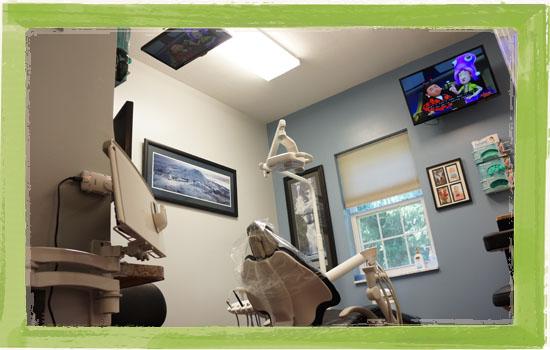 Delaware Ohio dentist's office patient room